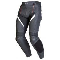 Kožené nohavice na motorku Ozone Grip čierne