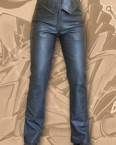 ae3d1edaeca2 ... Kožené moto nohavice Klasik - dámske výpredaj vypredaj