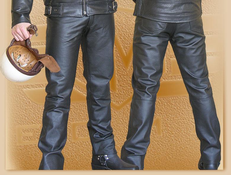 13c49f9f6899 Kožené moto nohavice Klasik výpredaj vypredaj