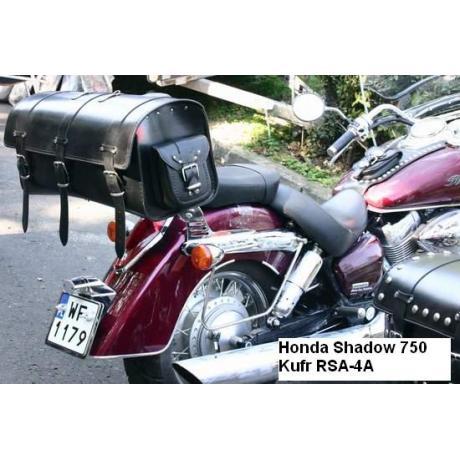Kožený moto kufor na motorku Chopper RSA-4A