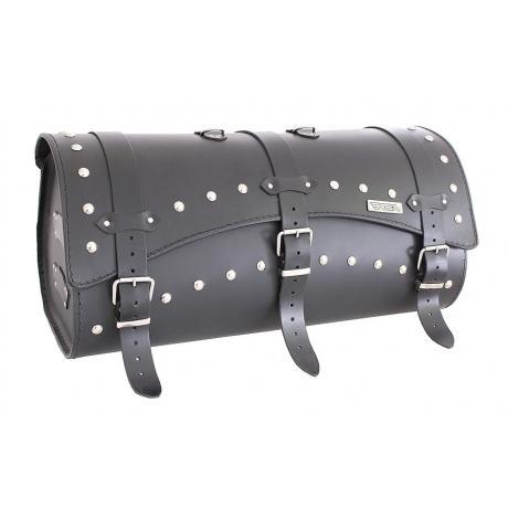 Kožený moto kufor RSA - 10B - dĺžka 60