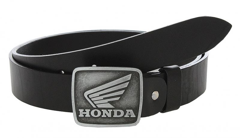 74090483c Kožený moto opasok so sponou Honda   Motozem.sk