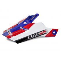 Šilt pre prilbu LS2 PEAK MX456 bielo-modrý