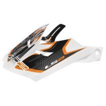 Šilt pre prilbu LS2 PEAK MX456 Compass bielo-oranžový