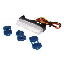 LED zadné svetlo R-TECH s čírym sklom