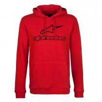 Mikina Alpinestars Always Fleece červená