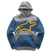Mikina Alpinestars Protocol Fleece šedo-modrá
