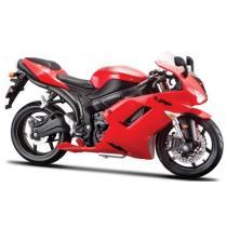 Model motocykla Maisto Kawasaki Ninja ZX-6R červená