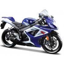 Model motocykla Maisto Suzuki GSX-R750 modrá