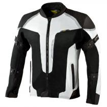 Moto bunda Rebelhorn Hiflow III strieborno-čierna