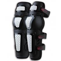Moto chrániče kolien Zandona Kneeguard Evo čierno-biele