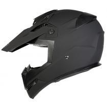 Motokrosová prilba na motorku Ozone FMX čierna matná