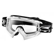 Motokrosové okuliare AXO SR biele