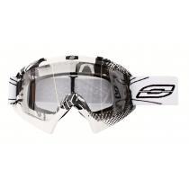 Motokrosové okuliare Ozone MX Mud biele