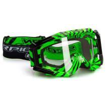 Motokrosové okuliare Scorpion E15 fluo zeleno-čierne