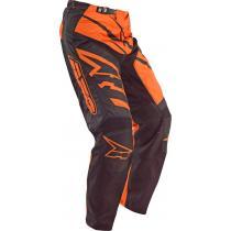 Motokrosové nohavice AXO SR čierno-oranžové