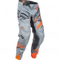 Motokrosové nohavice FLY Racing EVO 2018 - USA šedo-oranžovo-čierne