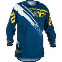 Motokrosový dres FLY Racing EVO 2018 - USA modro-žlto-biely