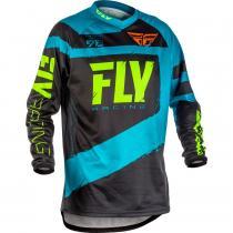 Motokrosový dres FLY Racing F-16 2018 - USA modro-čierny