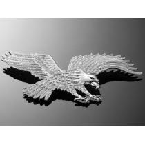 Nalepovací emblém Highway Hawk, chróm
