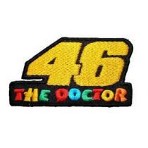 Nášivka a nažehlovačka The Doctor 46