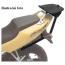 Nosič vrchného kufra Honda CBR 1000F(90-01)