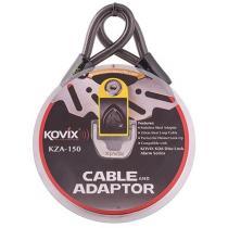 Oceľové lanko s adaptérom KOVIX KZA-150