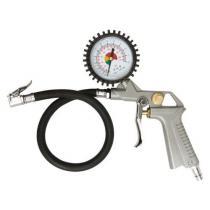 Pištoľ  na hustenie pneu s manometrom 2,8-10 bar