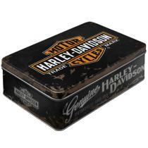 Plechová dóza Harley Davidson
