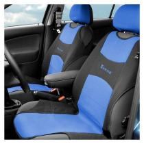 Poťah sedadla TRIKO 2ks modrý