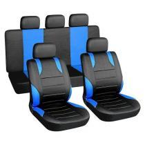 Poťahy sedadiel sada 9ks modre