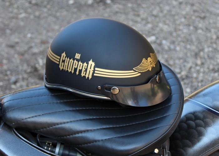 ebca985a81dc1 Prilba na motorku Braincap RSA Skull čierna matná | Motozem.sk