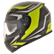 Prilba na motorku Cassida Integral 2.0 čierno-šedo-fluo žltá