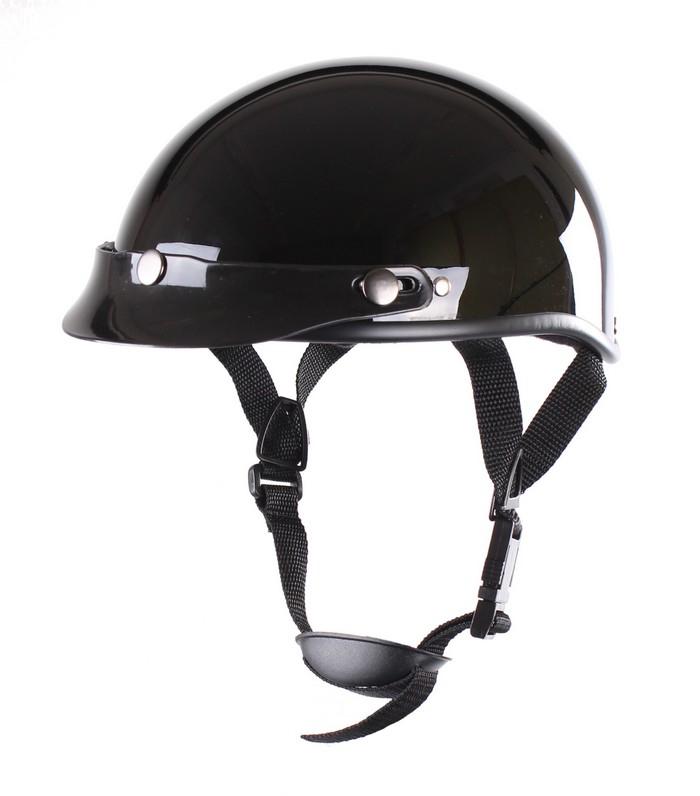8e5eaa43a2240 Prilba na motocykel RSA Chopper čierna lesklá | Motozem.sk