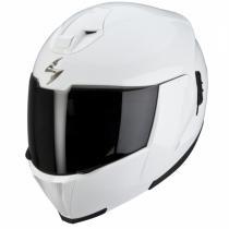 Prilba výklopná na motorku Scorpion EXO-910 biela