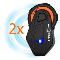 Sada 2 ks Bluetooth Intercomu T-MAX