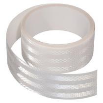 Samolepiaca páska reflexná 5m x 5cm biela (role 5m)