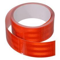 Samolepiaca páska reflexná 5m x 5cm červená (role 5m)