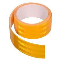 Samolepiaca páska reflexná 5m x 5cm žltá (role 5m)