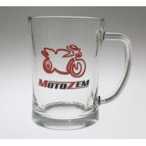 Pohár s logom MOTOZEM2