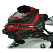 Tankbag na motocykel Oxford Q4R QR-červený