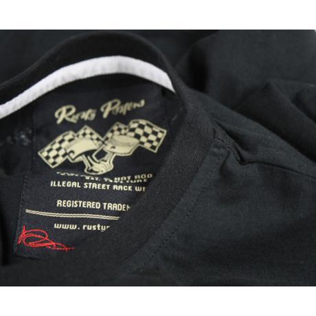 Tričko s krátkym rukávom Rusty Pistons Mansfield