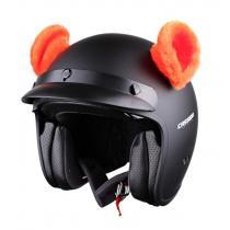 Uši na helmu Ušká oranžová
