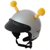 204be926cc446 Uši na helmu Mačka ružová | Motozem.sk