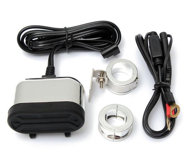 ... Vodeodolná duo zásuvka s USB - chróm fa6be13c6e