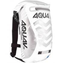 Vodotesný batoh Oxford Aqua V12 Extreme Visibility bielo / šedý