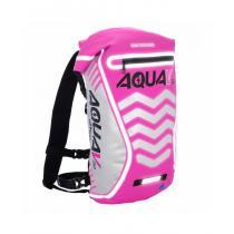 Vodotesný batoh Oxford Aqua V20 Extreme Visibility ružový