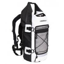Vodotesný batoh Rebelhorn Rollbag čierno-biely