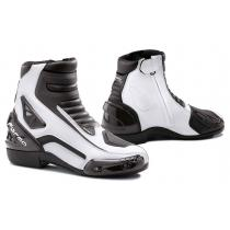 Topánky na motorku Forma Axel čierno-biele vypredaj