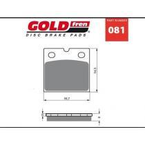Brzdové doštičky Goldfren AD 081 vypredaj